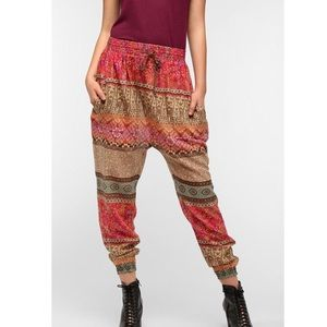Urban Outfitters Pants - Urban Outfitters Boho Harem Jogger Hippie Pants